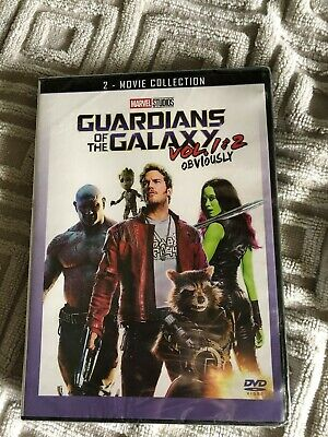 Guardians of the Galaxy Vol. 1 & 2 DVD Box Set Both Movies Marvel Bundle New