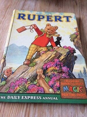 RUPERT ANNUAL 1964, Illustrated by Alfred Bestall, VGC - Free Post
