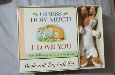 Guess how much I love you board book and Soft Toy Gift Set