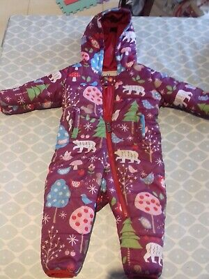 Toddler Snow/Rain Suit 12-18 months All-in-One Hatley