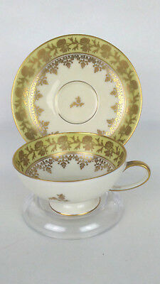 Rosenthal Selb Germany Demitasse Floral Cup and Saucer Gold Trim