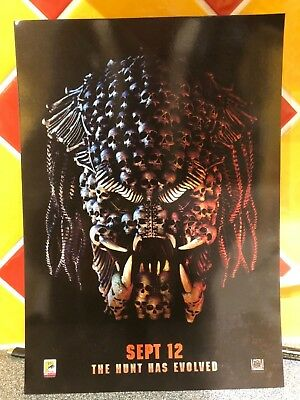 The Predator Limited Edition Poster, Odeon Exclusive A4 card