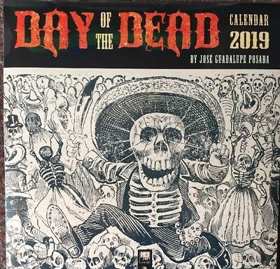 Day Of The Dead Wall Calendar 2019 By Jose Guadalupe Posada