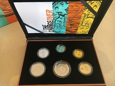 2016 The Change Over Australian Proof Coin Set 50th Anniversary Decimal Currency