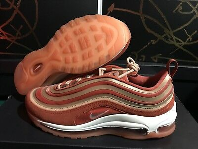 NIKE AIR MAX 97 UL '17 LX Sneakers Dusty Peach Size 6 7 8 9