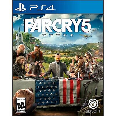 Far Cry 5 for PlayStation 4 - BRAND NEW & FACTORY SEALED! Farcry 5 PS4