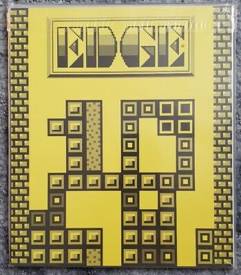 Edge Issue #128 Magazine 10th Anniversary *Tetris Cover* SEALED