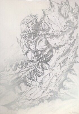 Vor The Maelstrom Shard 3 Sci-Fi Alien Original Art Clint Langley