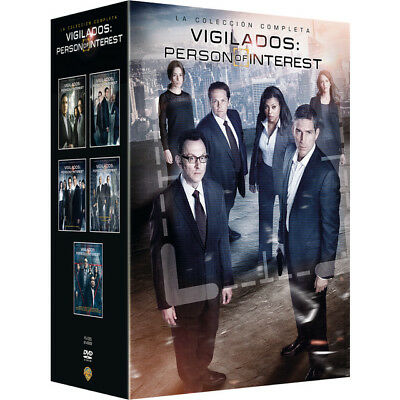 Vigilados Person Of Interest SERIE COMPLETA EN Blu-Ray CASTELLANO ESPAÑA NUEVA
