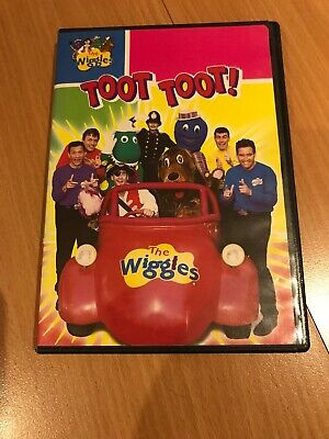 THE WIGGLES TOOT Toot Musical Big Red Car Sound & Motion