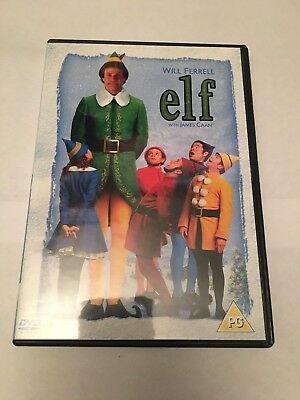 Elf (DVD, 2005) 2 disc, Will Ferrell, Zooey Deschanel, James Caan, Mary Steenbur