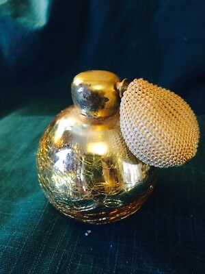 Vintage  Perfume Bottle with Atomizer (probably 1940-1960)
