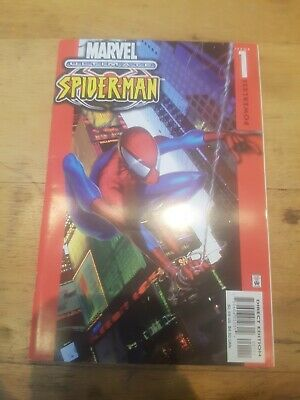 Ultimate Spiderman # 1 First Ultimate Spiderman Red Hot Key!