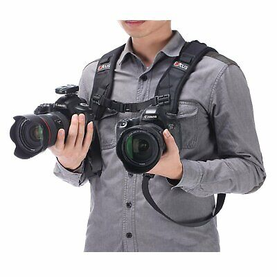 2019 Focus Double Quick Rapid Shoulder Sling Strap for Camera DSLR High Quality