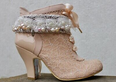 Beautiful, one off design, handmade Boot strap from Boot JuJu ~ The Princess
