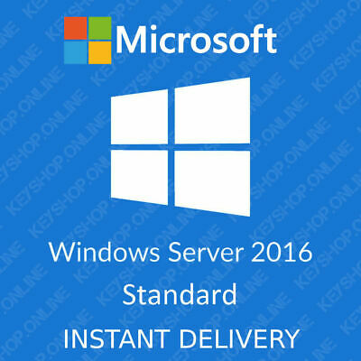MS Windows Server 2016 Standard 64-bit ( Multilanguage ) Genuine License Key