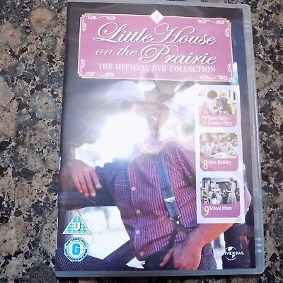 Dvd Little House On The Prairie Town Country Party Ma's Holiday School Mum
