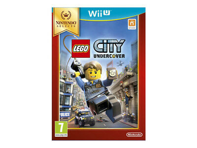 Wii U Lego City Undercover Selects NEUF SOUS CELLO FR