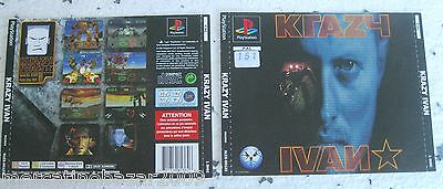 Krazy Ivan (1995) Playstation 1 Cover, No Disco