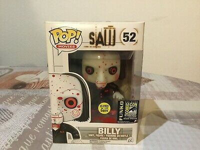 Funko pop Billy #52# SAW. GLOW IN THE DARK.