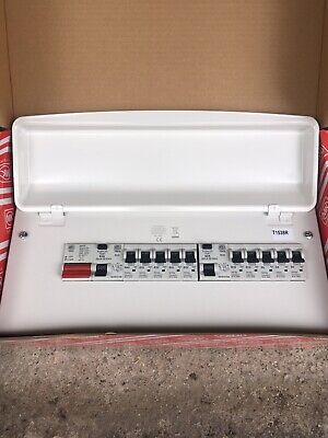MK Sentry 16 Way Metal Consumer Unit K7666sMET