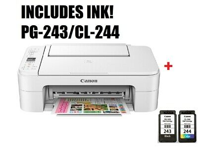 Canon PIXMA TS3122 Wireless phone All In One Printer (White) FREE SHIPPING USA
