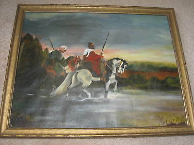 Very Old Original OIL PAINTING, Artist Signed...Quite Lovely!