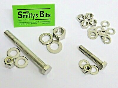 Classic Austin Rover Mini Gear Selector Stainless Steel Fitting Kit