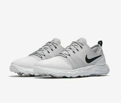 7d24b2ccc3009 NEW Nike FI Impact 3 Men's Golf Shoes AH6960 AH6959-100 White Gray Black SZ