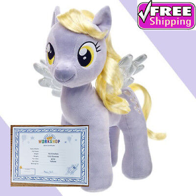 Build-A-Bear My Little Pony MUFFINS Derpy Hooves NWT (w/Birth Cert) ***UNSTUFFED