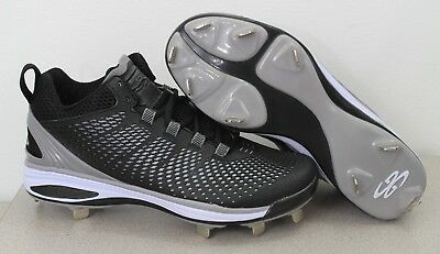 c61487e0c10 NEW BOOMBAH METAL Cleat Squadron Baseball Softball Shoes Size 8 ...
