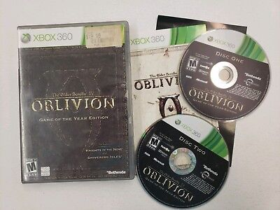 the elder scrolls iv oblivion game of the year edition xbox 360 download