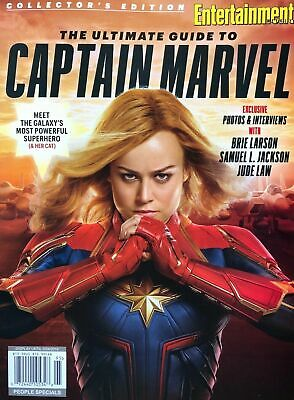 ❤2019 People/Entertainment COLLECTOR'S EDITION Ultimate Guide To CAPTAIN MARVEL