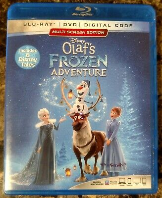 Olaf's Frozen Adventure (Blu-ray Disc, 2018) Disney, Olaf, Olafs