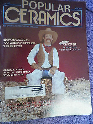 Popular Ceramics Magazine - July 1993