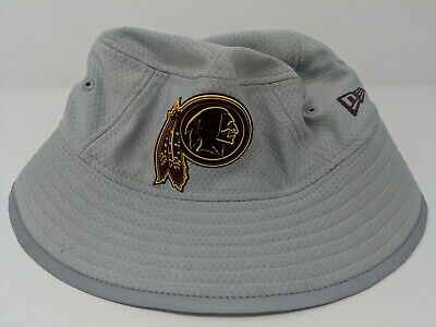 e547564ff7f30a Washington Redskins New Era Youth 2018 Training Camp Official Bucket Hat -  Gray