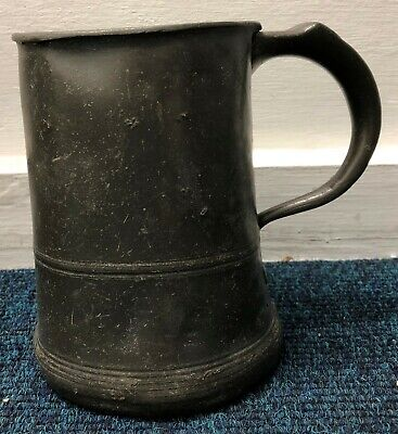 Antique Pewter Mug Tankards Yates & Birch