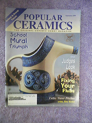 Popular Ceramics Magazine - September 1999