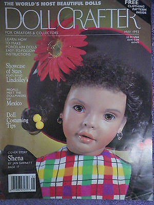 Doll Crafter Magazine - May 1993  Pattern Inside
