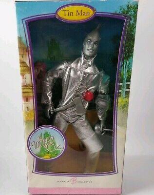 2006 Mattel Barbie Collector Pink Label Wizard of Oz Tin Man New In Box