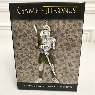 NEW Kurt S. Adler Game of Thrones WHITE WALKER Christmas Ornament 2014