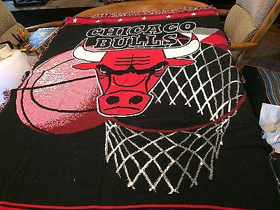 Chicago Bulls Blanket Throw by The Northwest Company