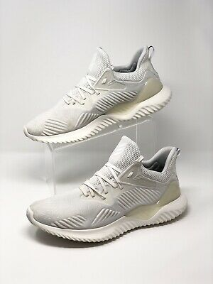 7ef983085a7ae Men s Adidas Alphabounce Beyond M Cream White Running Shoes Size US 12