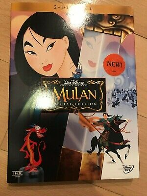 Mulan (DVD, 2004, 2-Disc Set, Special Edition) - Like New w/Slipcover