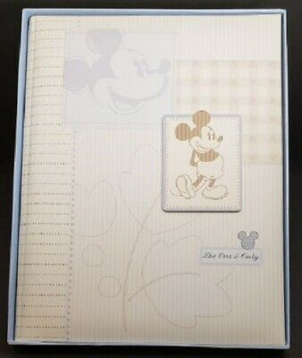 Disney Baby  Mickey Mouse Memory Book, Brand New With Original Box, Free Ship!