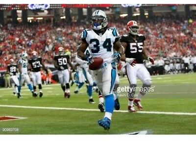 aa7b5cb1a 2009 Deangelo Williams Game Worn Carolina Panthers NFL Jersey Autographed -  LOA