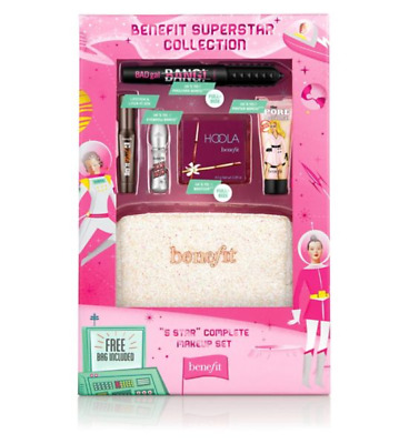 Benefit Superstar Collection makeup gift set with surprises BNWB xmas