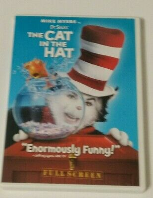 Dr. Seuss The Cat in the Hat (DVD, 2004, Full Frame Edition) B-2