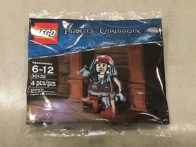 Baukästen & Konstruktion Lego Käpt'n Jack Sparrow 30131 Polybag NEU Captain Pirates of the Caribbean