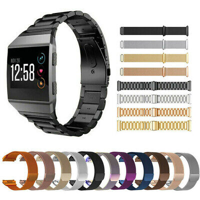 Milanese Loop For Fitbit Ionic Watch Band Strap Bracelet S/L Stainless Steel